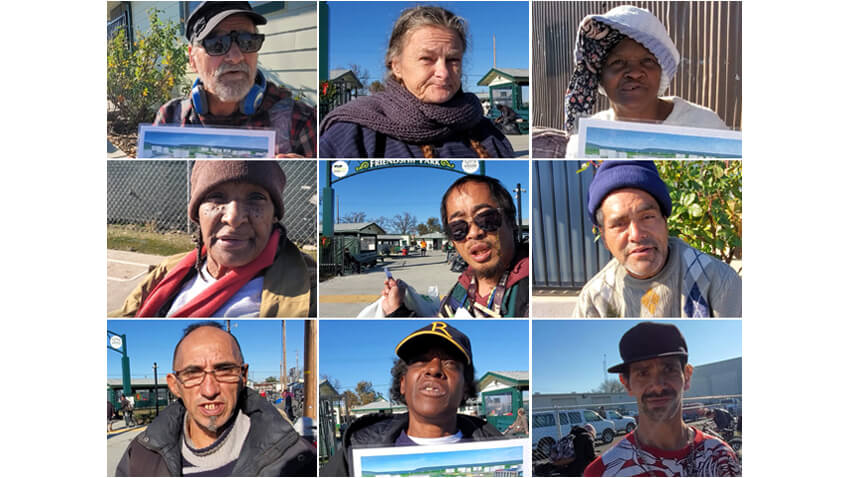 Homeless Adults Give Testimonials For Citizens Again City