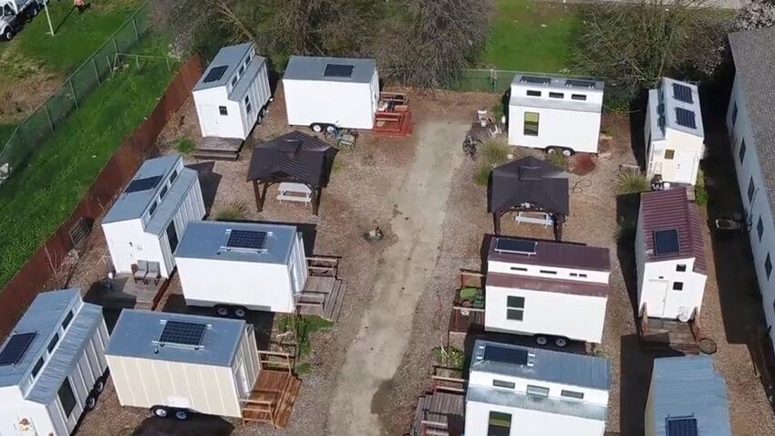 Tuff Shed Housing For Sacramento Homeless